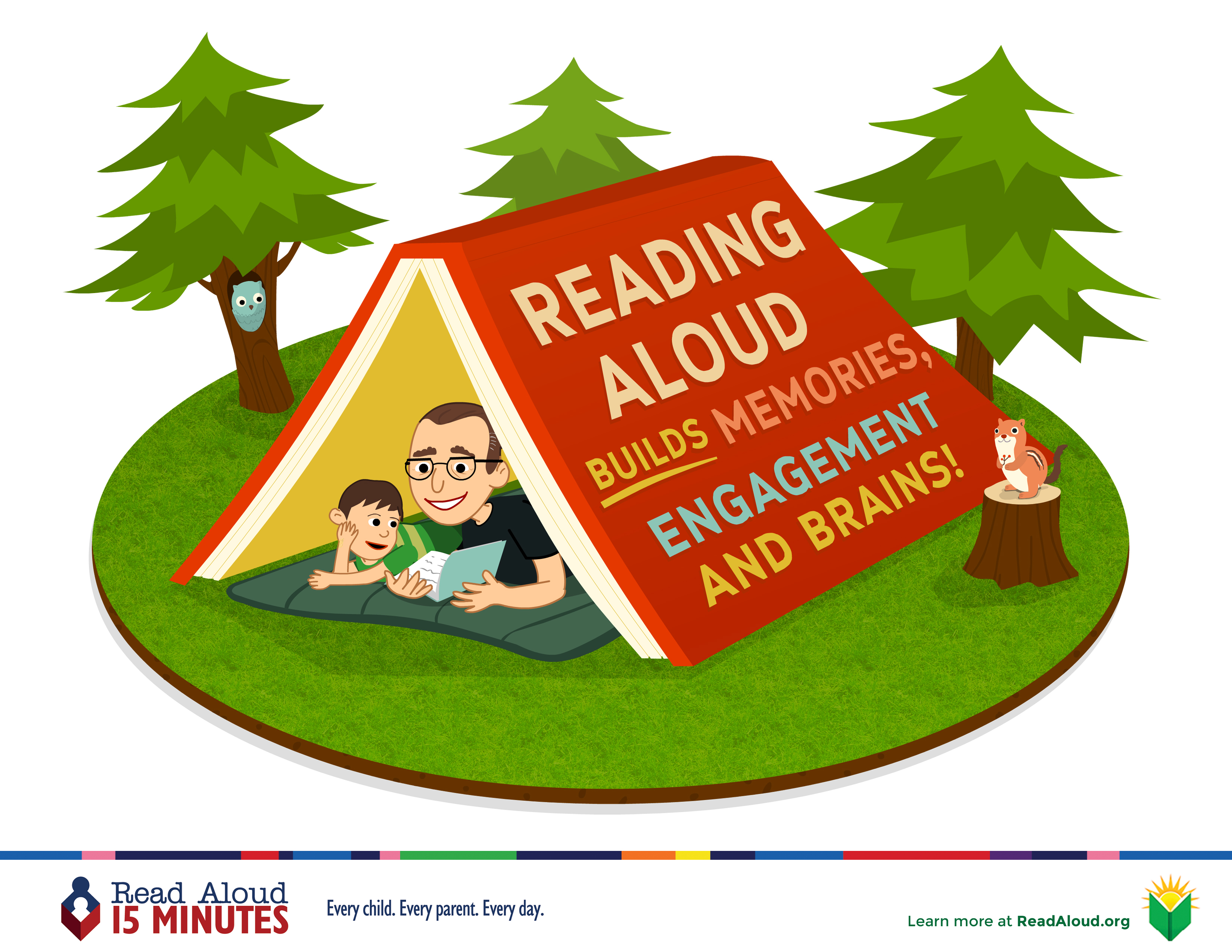 reading aloud to children The more adults read aloud to children, the larger their vocabularies will grow and the more they will know about the world and their place in it.